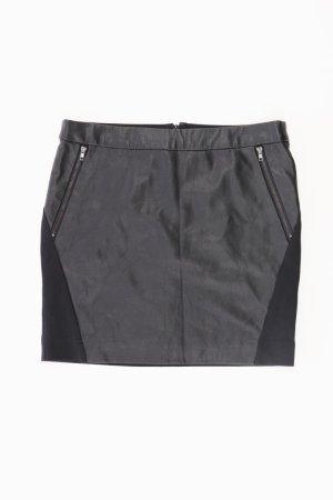 Vero Moda Spódnica z imitacji skóry czarny Wiskoza