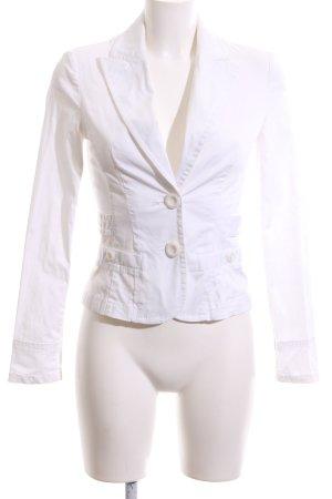 Vero Moda Korte blazer wit zakelijke stijl