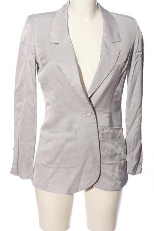 Vero Moda Blazer corto grigio chiaro stile professionale