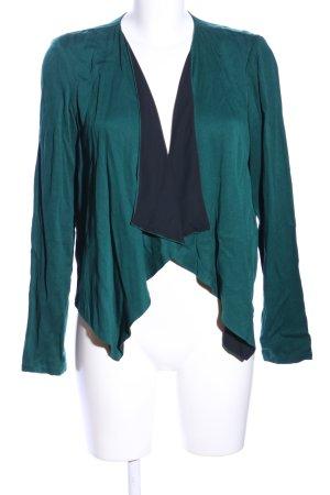 Vero Moda Kurz-Blazer grün-schwarz Casual-Look