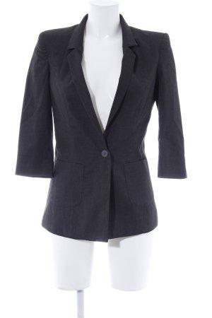 Vero Moda Kurz-Blazer anthrazit-grau meliert Business-Look