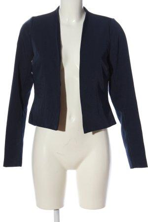 Vero Moda Korte blazer blauw zakelijke stijl