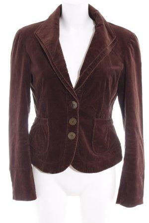 Vero Moda Short Blazer dark brown elegant