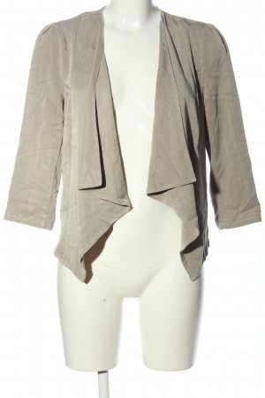 Vero Moda Kurz-Blazer hellgrau Casual-Look