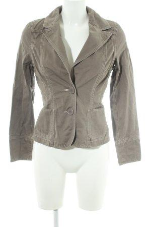 Vero Moda Kurz-Blazer graubraun Casual-Look