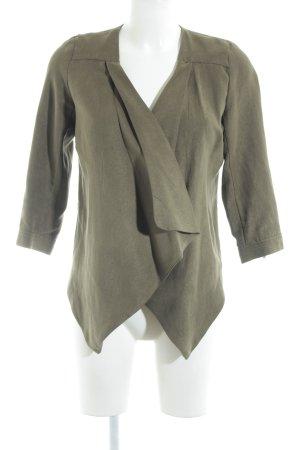 Vero Moda Kurz-Blazer olivgrün Casual-Look