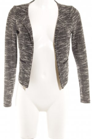 Vero Moda Kurz-Blazer schwarz-weiß meliert Business-Look