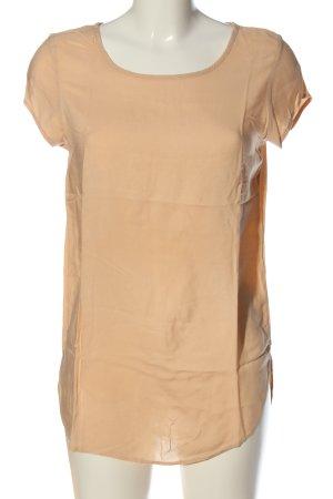 Vero Moda Kurzarm-Bluse nude Casual-Look