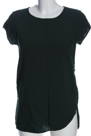 Vero Moda Kurzarm-Bluse grün Casual-Look