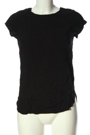 Vero Moda T-Shirt schwarz Casual-Look