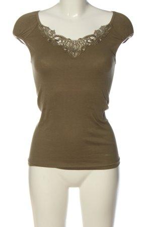 Vero Moda Strickshirt khaki Casual-Look