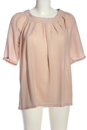 Vero Moda Kurzarm-Bluse creme Business-Look