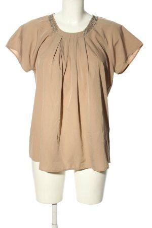 Vero Moda Kurzarm-Bluse creme Casual-Look
