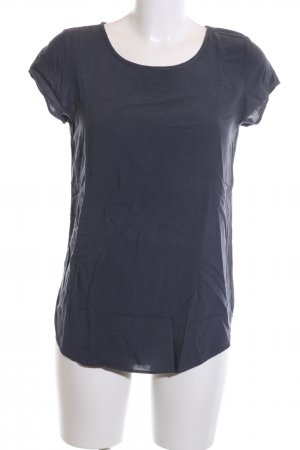 Vero Moda Kurzarm-Bluse blau Business-Look