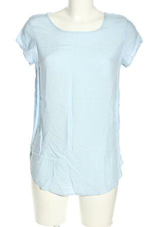 Vero Moda Kurzarm-Bluse blau Casual-Look