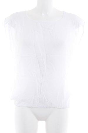 Vero Moda Kurzarm-Bluse weiß Elegant