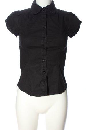 Vero Moda Kurzarmhemd schwarz Casual-Look