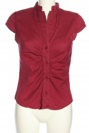 Vero Moda Kurzarmhemd rot Streifenmuster Casual-Look