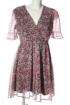 Vero Moda Kurzarmkleid Blumenmuster Casual-Look