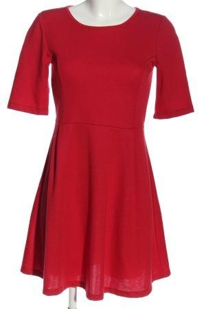 Vero Moda Kurzarmkleid rot Casual-Look