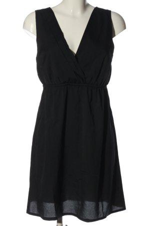 Vero Moda Robe à manches courtes noir style décontracté