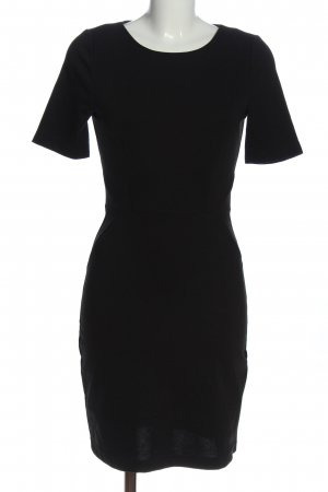 Vero Moda Kurzarmkleid schwarz Business-Look