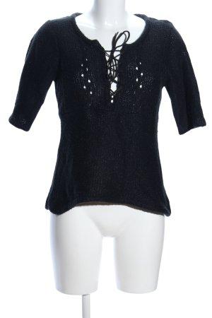 Vero Moda Maglione a maniche corte nero stile casual