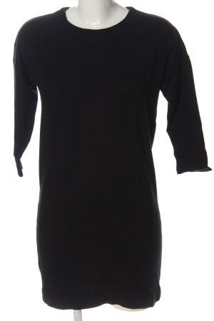 Vero Moda Sweatkleid schwarz Casual-Look