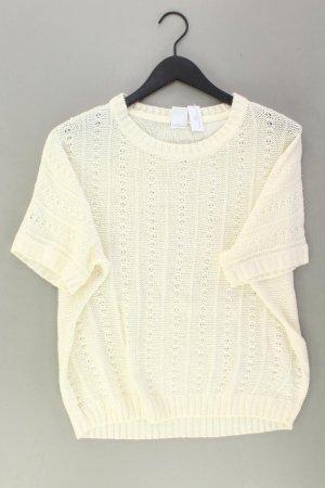 Vero Moda Top en maille crochet blanc cassé acrylique