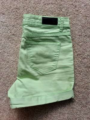 Vero Moda kurze Hose Hotpants Shorts Jeansshorts 26 hell grün