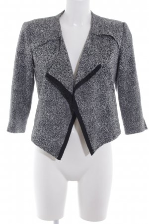 Vero Moda Kurzjacke schwarz-weiß meliert Business-Look