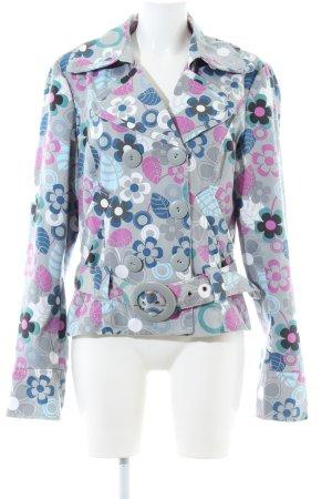 Vero Moda Kurzjacke Blumenmuster Casual-Look