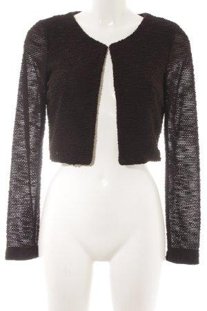 Vero Moda Kurzjacke schwarz schlichter Stil