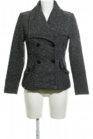 Vero Moda Kurzjacke schwarz-wollweiß Punktemuster klassischer Stil