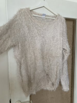 Vero Moda Wool Sweater natural white-cream