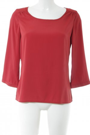 Vero Moda Langarm-Bluse rot Business-Look