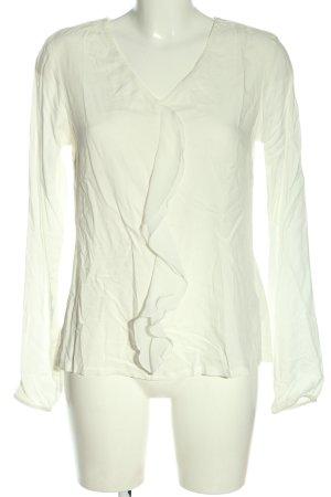 Vero Moda Langarm-Bluse weiß Business-Look