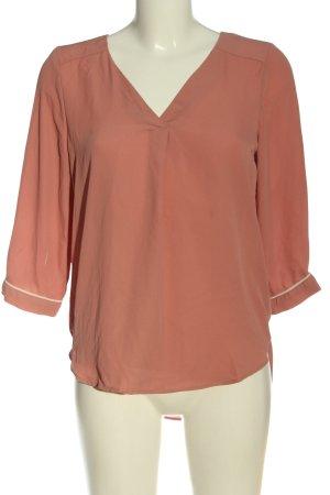 Vero Moda Langarm-Bluse pink Business-Look