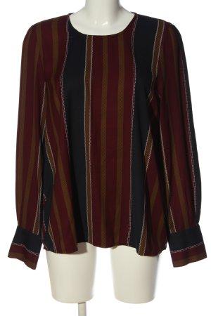 Vero Moda Langarm-Bluse Streifenmuster Casual-Look