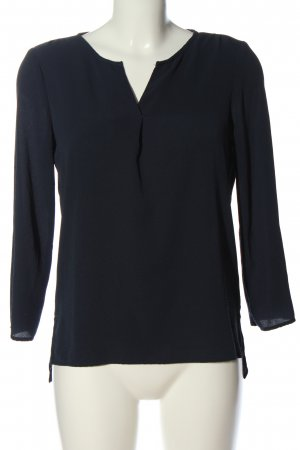 Vero Moda Langarm-Bluse blau Casual-Look