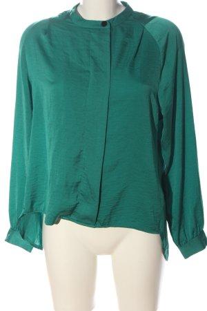 Vero Moda Langarm-Bluse grün Casual-Look