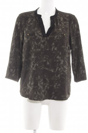 Vero Moda Langarm-Bluse abstraktes Muster Street-Fashion-Look