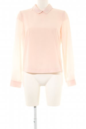 Vero Moda Langarm-Bluse creme Business-Look