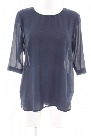 Vero Moda Langarm-Bluse blau Business-Look