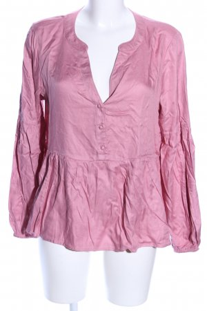 Vero Moda Langarm-Bluse pink Business-Look