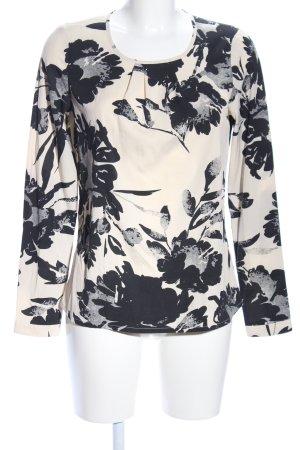 Vero Moda Langarm-Bluse Blumenmuster Casual-Look