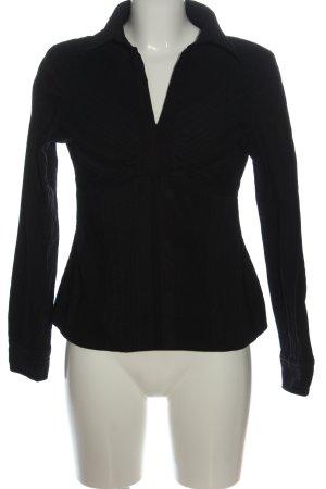 Vero Moda Langarm-Bluse schwarz Streifenmuster Business-Look