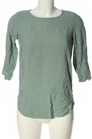 Vero Moda Langarm-Bluse hellgrau Casual-Look