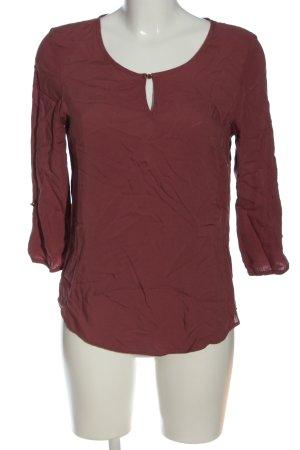 Vero Moda Langarm-Bluse rot Casual-Look