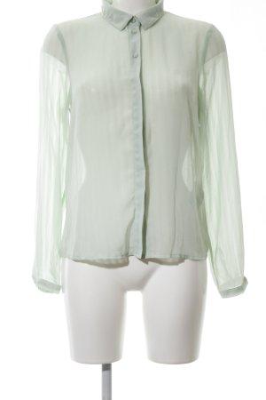 Vero Moda Langarm-Bluse grün Business-Look